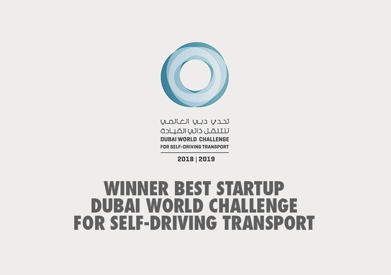 Winner Of Dubai World Challenge for Self-Driving Transport